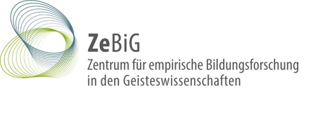 Logos des Zentrums für empirische Bildungsforschung in den Geisteswissenschaften (ZeBiG)